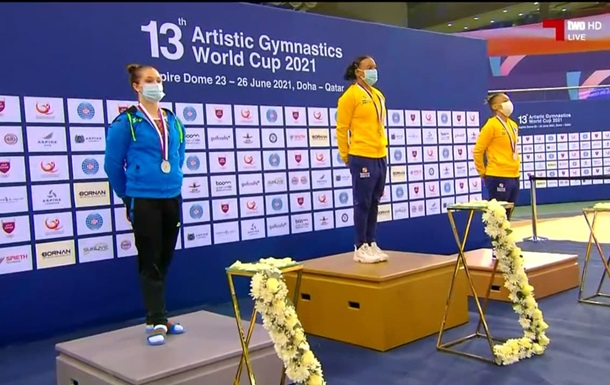 Бачинська здобула срібло на етапі Кубка світу в Досі