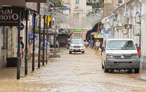 Крим назвав суму збитків від повені