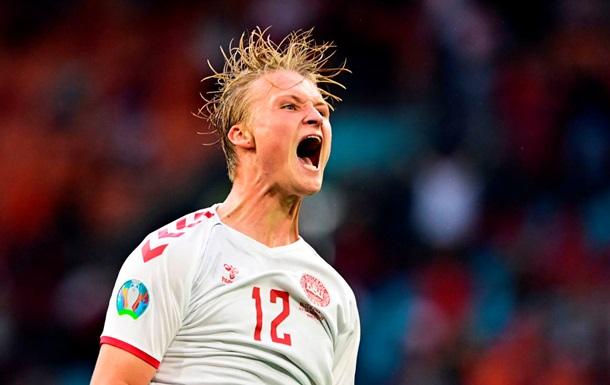 Дания уничтожила Уэльс и вышла в четвертьфинал Евро-2020