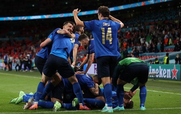 Італія в овертаймі дотиснула Австрію і вийшла у чвертьфінал Євро-2020