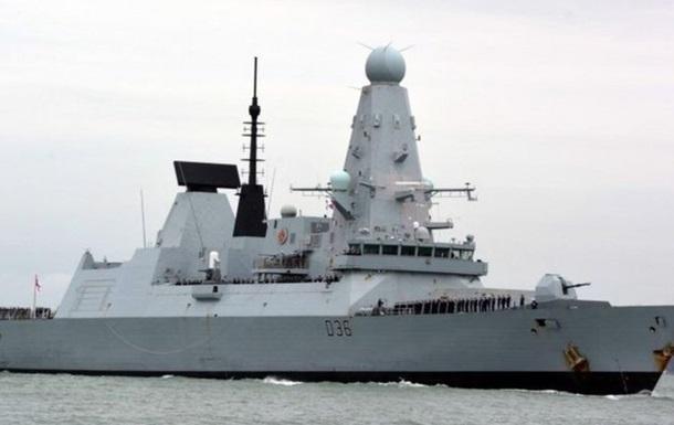 У Британії знайшли документи про есмінець, що був біля Криму
