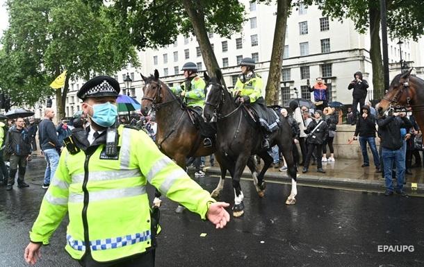 У Лондоні протестували коронаскептики