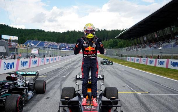 Ферстаппен здобув домінуючу перемогу на Гран-прі Штирії