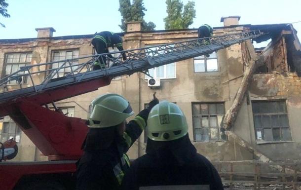 В Одесі обвалилася частина будівлі заводу