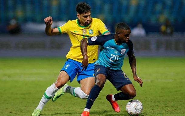 Бразилія, Перу, Колумбія і Еквадор вийшли в плей-офф Кубка Америки