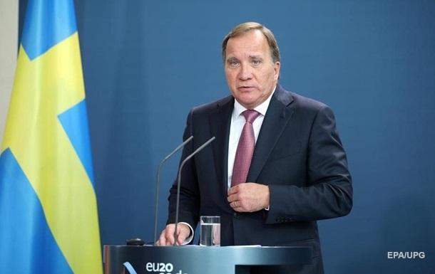 Глава уряду Швеції подав у відставку