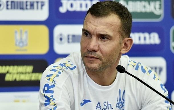 Шевченко: Команда зі Швецією намагатиметься грати на межі своїх можливостей