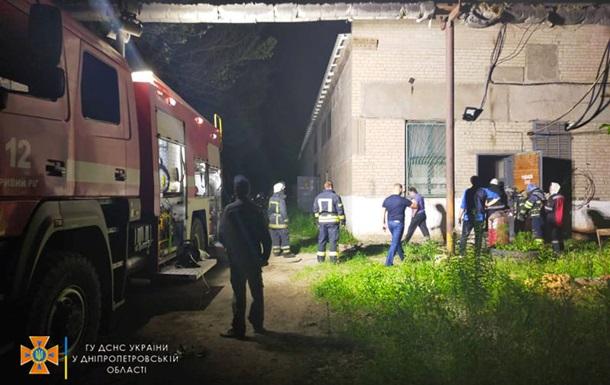 У Кривому Розі сталася пожежа на території підприємства