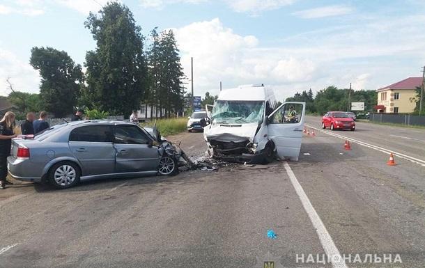 На Черниговщине в результате ДТП пострадали девять человек
