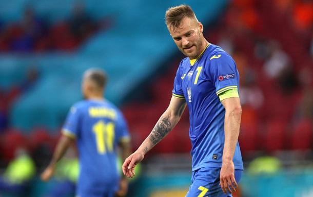 Ярмоленко обошел Пятова по количеству матчей за сборную Украины