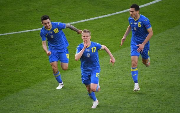 Украина впервые в истории забила с игры в плей-офф крупного турнира