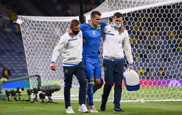 Бесєдін полетів до Києва, в Глазго йому не змогли зробити МРТ