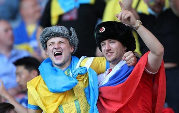 На матче Украина-Швеция подрались из-за флага РФ