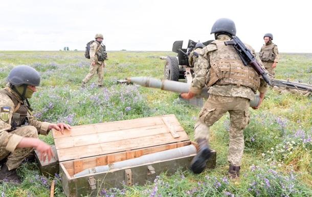 Артилеристи провели навчання на півдні України