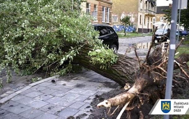 Львів знову накрила буря