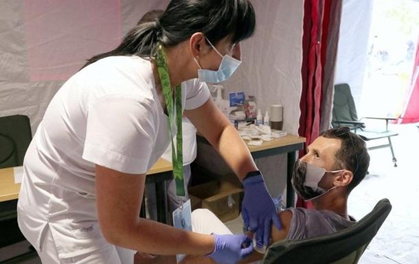 В Украине работают около 170 центров массовой вакцинации