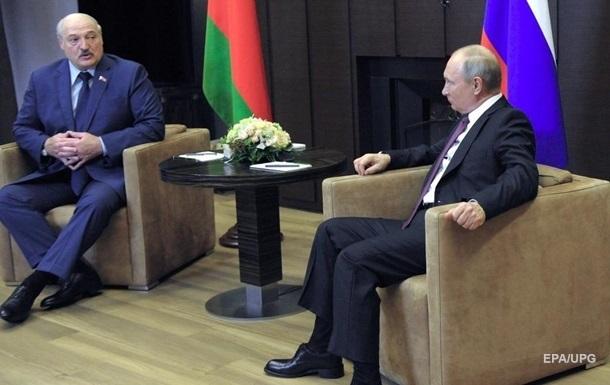 Лукашенко і Путін обговорили проблему санкцій