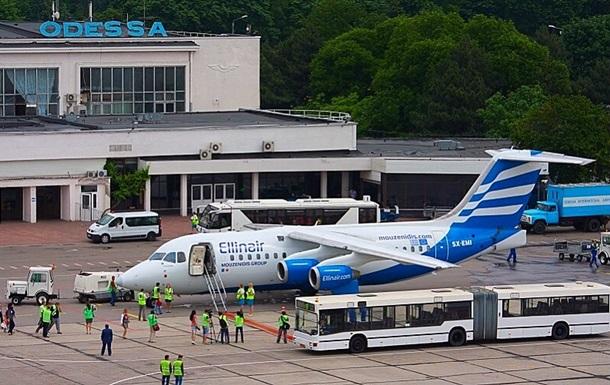 Аэропорт Одесса временно приостанавливает авиасообщение