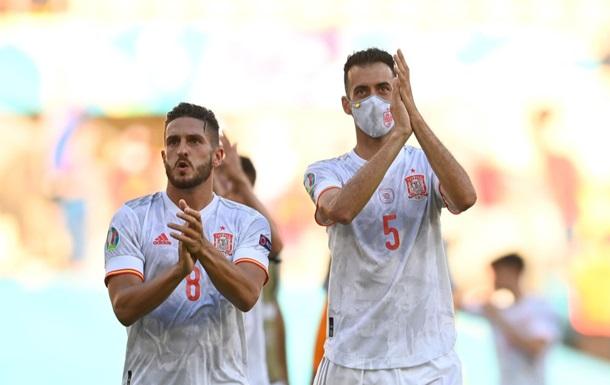 Швейцарія і Іспанія назвали стартові склади на матч Євро-2020