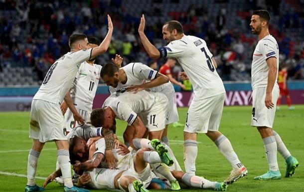 Збірна Італії встановила особистий рекорд результативності на Євро