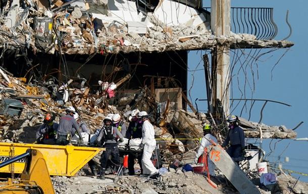 Обвалення будинку в Маямі: з-під завалів дістали тіло 7-річної дівчинки