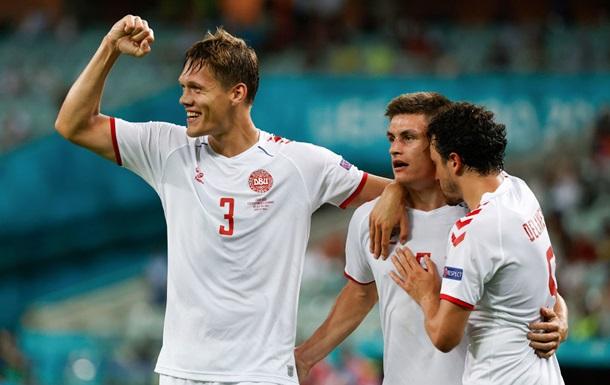 Данія побила особистий рекорд за забитими голами на Євро