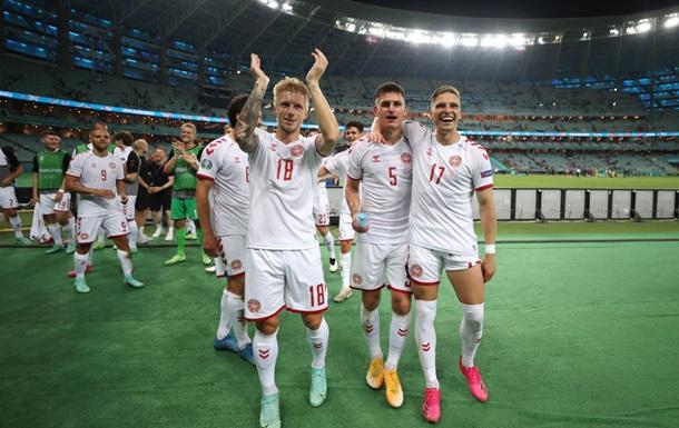 Данія встановила рекорд, пробившись до півфіналу Євро