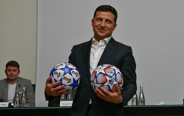 Зеленский отреагировал на проигрыш украинских футболистов