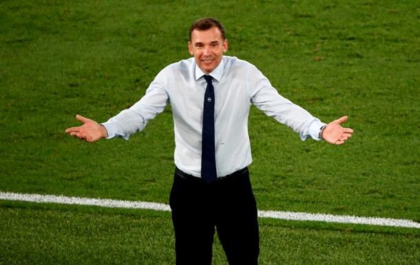 Шевченко - гравцям: Ви написали чудові сторінки для українського футболу