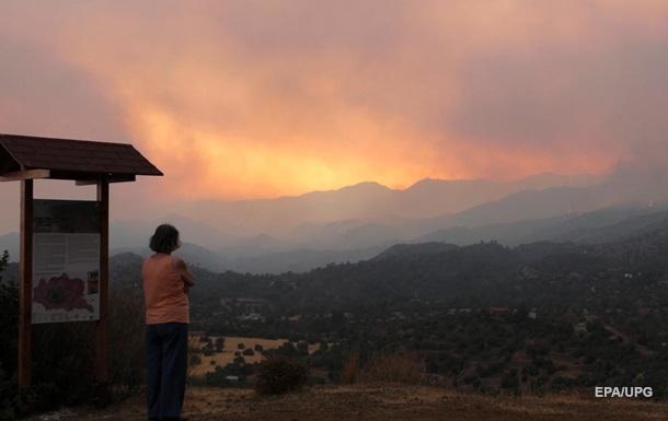 На Кіпрі найбільша за останні 40 років лісова пожежа - президент