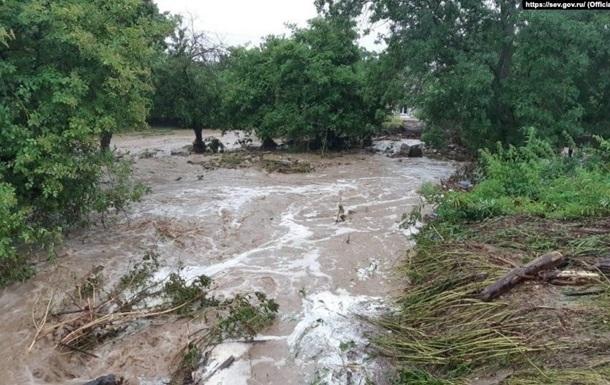 У Криму знову зливи, Ялту затоплює