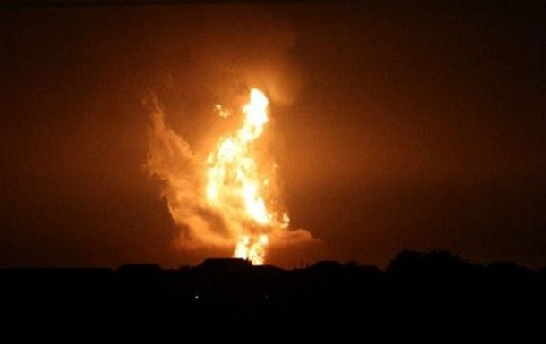 У Каспійському морі стався потужний вибух