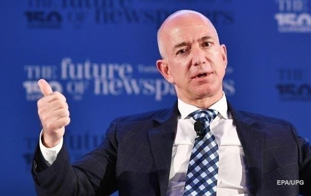 Безос іде з посади гендиректора Amazon