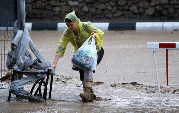 Через повінь у Криму загинула жінка - ЗМІ