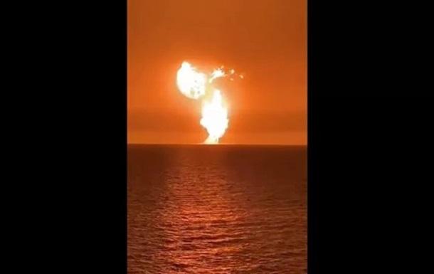 Азербайджан выясняет природу взрыва в Каспийском море