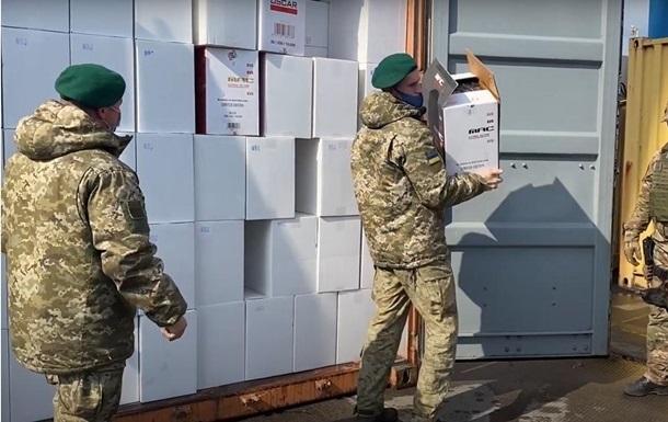 Заблокированы активы 174  контрабандных  компаний