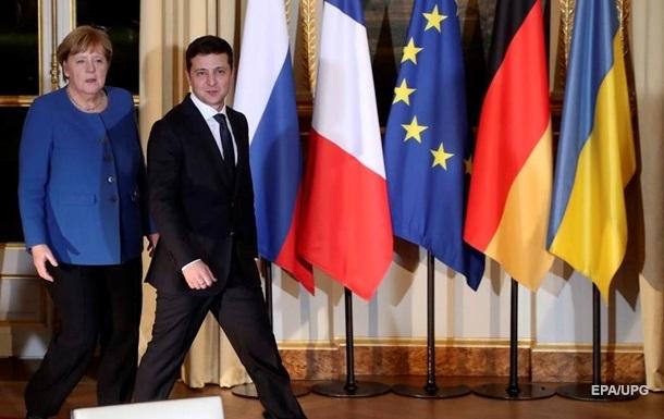 МЗС назвало теми зустрічі Зеленського і Меркель
