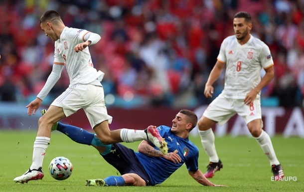 Италия - Испания 1:0. Онлайн-трансляция Евро-2020