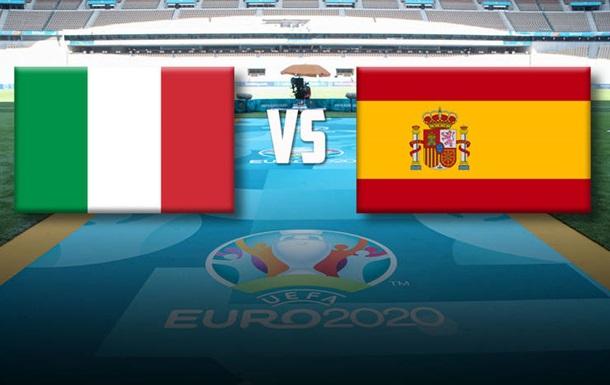 Італія-??Іспанія дивитися онлайн сьогодні о 22:00