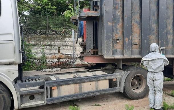 У порту Херсона виявили вантажівку з радіоактивним металобрухтом