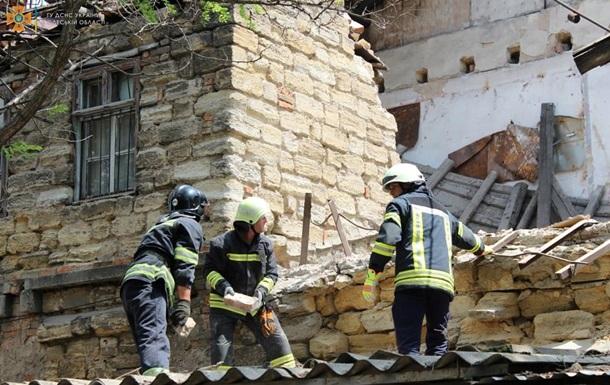 В Одесі завалився двоповерховий будинок