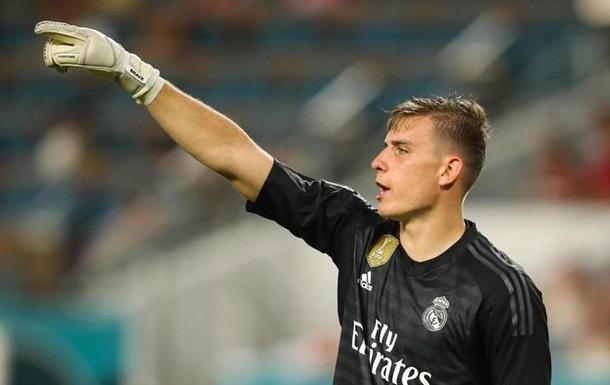 Лунін має кілька варіантів продовження кар єри в Реалі