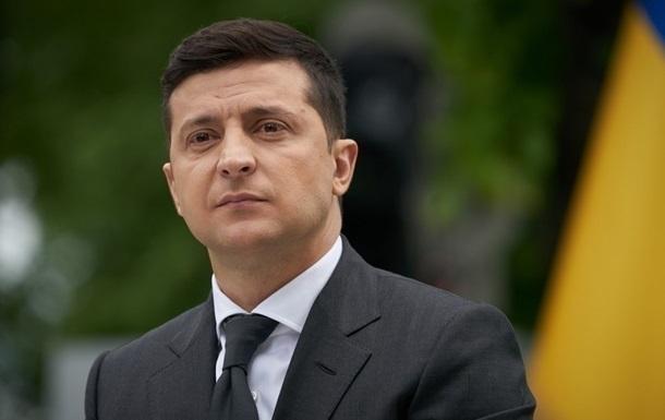 Зеленський сподівається на допомогу США щодо Донбасу