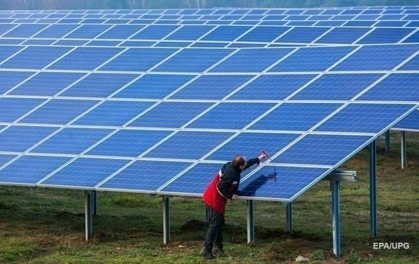 В Черкасской области начала работу крупная солнечная электростанция