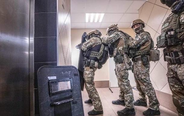 Появились кадры задержания  голосеевского стрелка