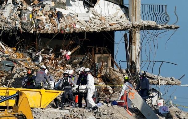 Обвал здания в Майами: поисковую операцию остановили