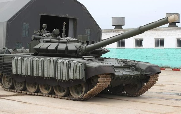 Россия провела танковые учения в Крыму