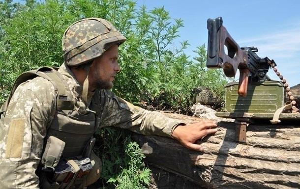 Боец ВСУ получил пулевое ранение на Донбассе