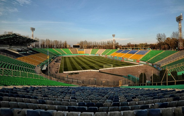 УАФ запретила проводить матчи на стадионе Украина