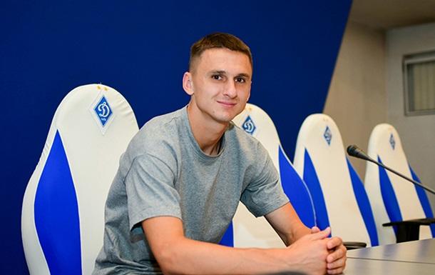 Динамо підписало Антюха